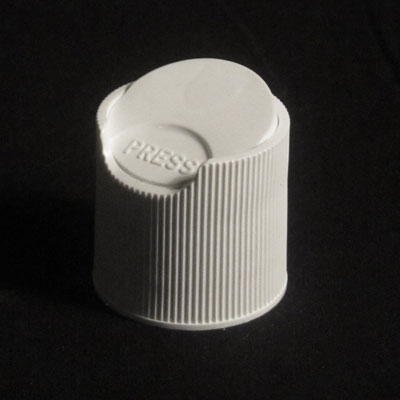 DISC TOPS - FINE RIBBED WHITE