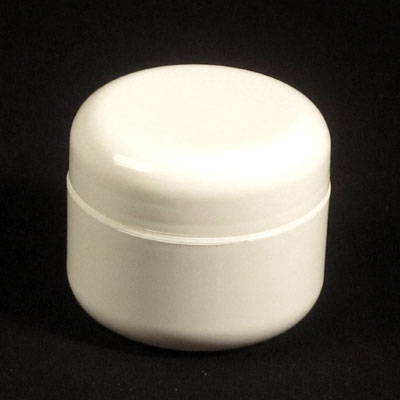 DOUBLE WALL ROUND BASE PLASTIC JARS - PP / PP BOTTLES