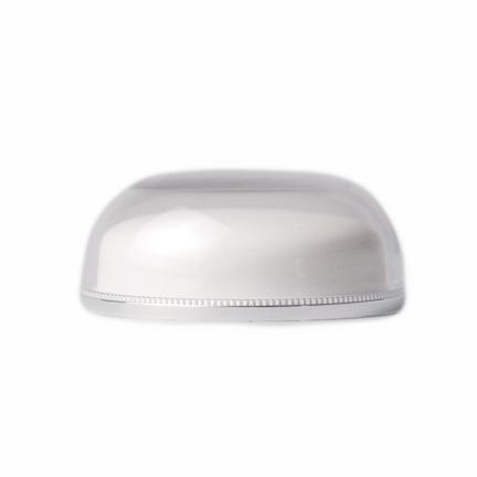 COSMETIC ROUND JAR CLOSURE - SILVER