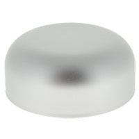 CHILD RESISTANT - METALLIZED DOME CLOSURES - PE LINED - MATTE SILVER CAPS