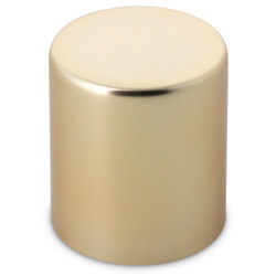 EXTRA TALL SMOOTH CHILD RESISTANT CLOSURE WITH LINER - GOLD
