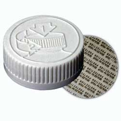 CHILD RESISTANT - PICTORIAL STYLE WITH PRESSURE SENSITIVE INNER SEAL - WHITE CAPS