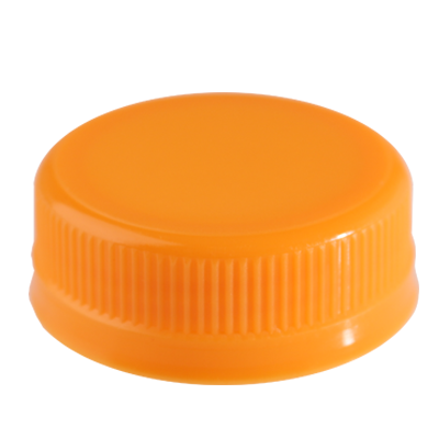 JUICE BOTTLE CAPS - ORANGE CAPS