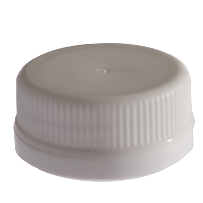 JUICE BOTTLE CAPS - TAMPER EVIDENT - WHITE
