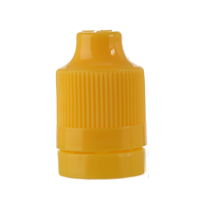 ELIQUID CHILD RESISTANT AND TAMPER EVIDENT OVERCAP - YELLOW