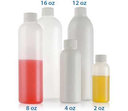 COSMO ROUND PLASTIC BOTTLES- HDPE BOTTLES
