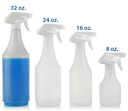 SPRAYER ROUNDS - HDPE BOTTLES