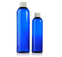COSMO ROUND COBALT BLUE - PET BOTTLES