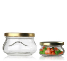 TUREEN JARS - GLASS BOTTLES