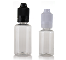 ELIQUID CHILD RESISTANT DROPPER - CLEAR PET