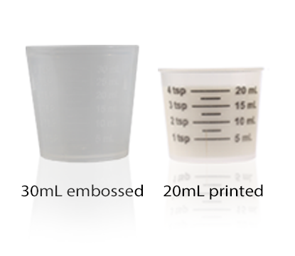 DOSAGE CUPS