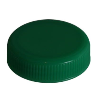 JUICE BOTTLE CAPS - TAMPER EVIDENT -  GREEN