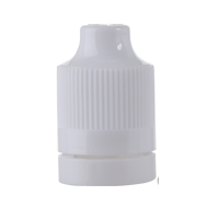 ELIQUID CHILD RESISTANT AND TAMPER EVIDENT OVERCAP - WHITE