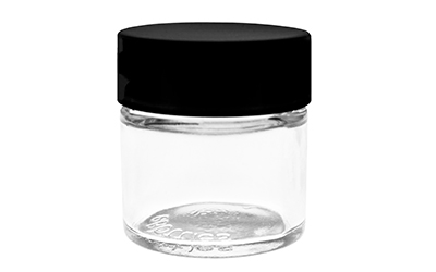 1 GRAM FLOWER GLASS JAR - CHILD RESISTANT BOTTLES
