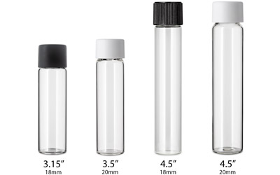 Glass Preroll Tubes BOTTLES