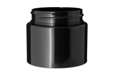 1 GRAM DOUBLE SHELL JARS - BLACK 53/400 (Patent #D862,233 S) BOTTLES