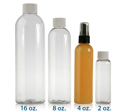 COSMO ROUND CLEAR - PET BOTTLES