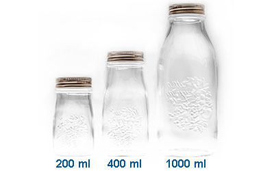 Quattro Stagioni Glass Juice Bottles BOTTLES