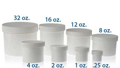 STRAIGHT SIDED SINGLE WALL PLASTIC JARS - PP BOTTLES