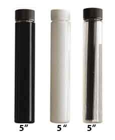 THIN SYRINGE CHILD RESISTANT CONTAINER BOTTLES