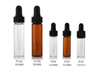 4 ml ELIQUID VIALS 13/410 in Clear