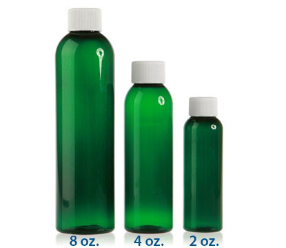 COSMO ROUND - GREEN - PET BOTTLES