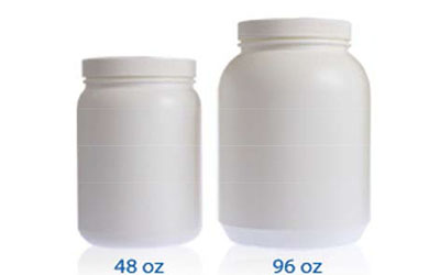 LARGE WIDE MOUTH JARS  - HDPE BOTTLES
