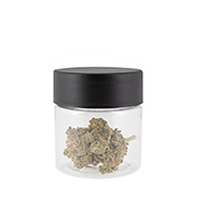 1 GRAM PET FLOWER JARS - CHILD RESISTANT