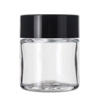 1 GRAM FLOWER GLASS JAR - CHILD RESISTANT