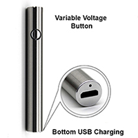 Variable Voltage Push Button Battery