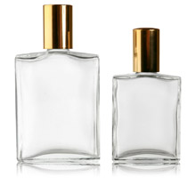 COSMETIC OBLONG - GLASS BOTTLES
