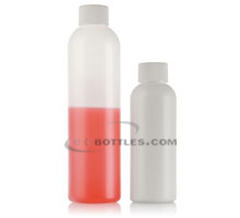 COSMO ROUND PLASTIC BOTTLES- HDPE