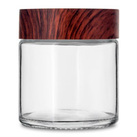 Glass Straight Sided Jars - Child Resistant