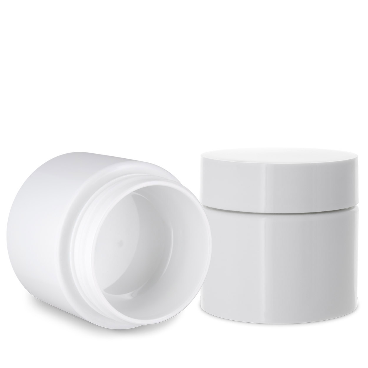 1 Gram Double Shell Jars  - WHITE (Patent #D862,233 S)