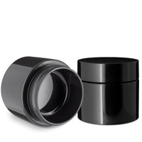 1 GRAM DOUBLE SHELL JARS - BLACK 53/400 (Patent #D862,233 S)