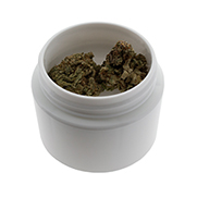 1 Gram Double Shell Jars (Patent Pending) - WHITE