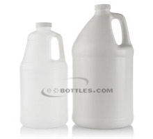 HANDLED ROUND PLASTIC JUGS - HDPE