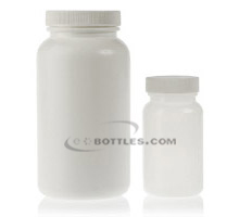 CHILD RESISTANT PHARMACEUTICAL ROUND JARS