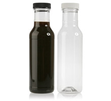 RING NECK SAUCE ROUND -  PLASTIC BOTTLES