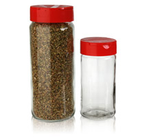 SPICE JARS - GLASS