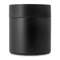Straight Sided Jars - Child Resistant - Matte Black
