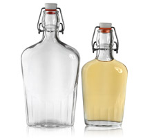 SWING TOP FLASK - GLASS