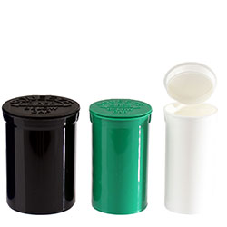POP TOP VIALS - ALL COLORS - MADE IN THE USA
