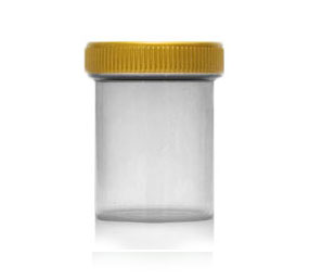 Sealz - Translucent Clear Jars with Gold Closures BOTTLES