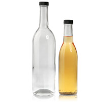 WINE BOTTLES - SCREW CAP - GLASS BOTTLES