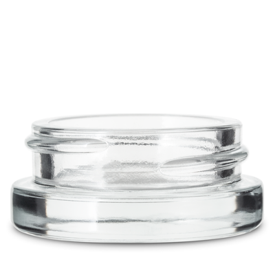 THICK WALL GLASS CONCENTRATE JARS - NOT CR CLEAR