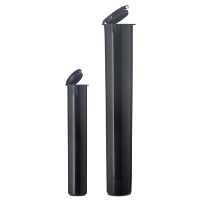 J TUBES DOOB TUBES CHILD RESISTANT -BLACK BOTTLES