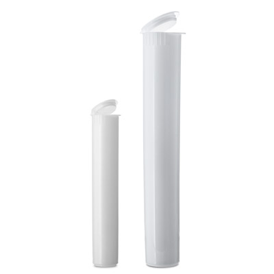 J TUBES - DOOB TUBES CHILD RESISTANT - WHITE - USA