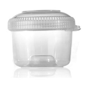 Bowlz - Translucent Clear with Clear Lids BOTTLES