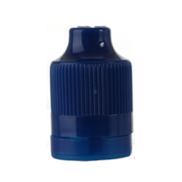 ELIQUID CHILD RESISTANT DROPPER - COBALT BLUE PET CAPS